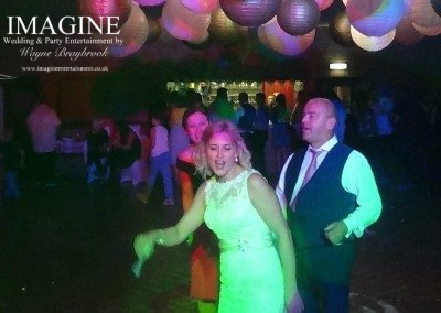 Emma & James' wedding reception at Witchford Village Hall