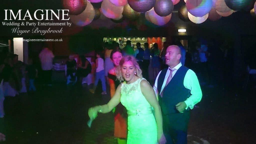 Emma & James' wedding reception at Witchford Village Hall