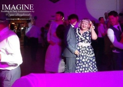 Emma and Matt's wedding reception at The Beet Club in Ely