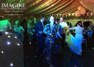 A typical Imagine wedding