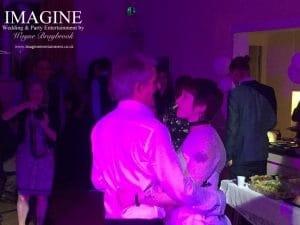Caroline and Steve's wedding reception