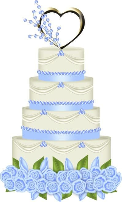 Wednesday Wedding Fact: The cake