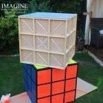 Light up Rubik's cubes