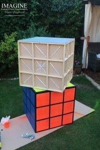 Light up Rubik's cubes