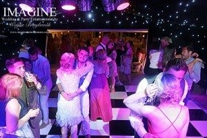 Holly & Dale's wedding reception at The Old Hall