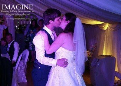 Selina and Ashley's wedding reception at the Golden Pheasant in Etton with Imagine Wedding & Party Entertainment