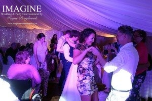 Selina and Ashley's wedding reception at the Golden Pheasant in Etton