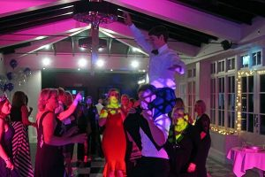 Sue's 50th birthday party at Swynford Manor with Imagine's mobile disco