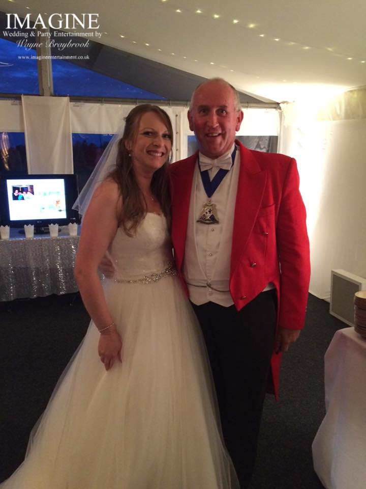 Toastmaster Ronnie Booth