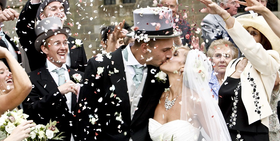 Ever wondered where the tradition of throwing confetti at a wedding came from? Read more at Imagine Wedding & Party Entertainement