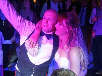 Holly & Dale's wedding reception at The Old Hall in Ely