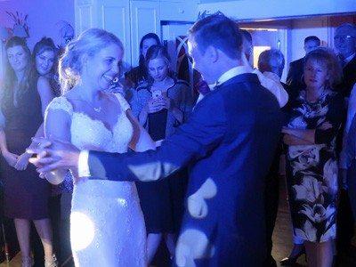 Jamie & Gareth's first dance at The Sheene Mill