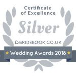 Bridebook Silver Award holder 2018