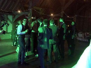 Lowri & Chris' wedding reception at Red Barn in North Runcton