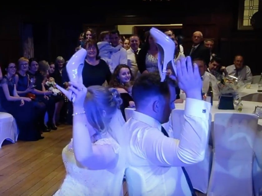 The Shoe Game with Imagine Wedding & Party Entertainment