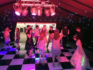 Natasha & Henry's wedding reception at The Old Hall in Ely with Imagine Wedding & Party Entertainment