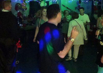 Deb & Ian's 80s themed party with Imagine Wedding & Party Entertainment