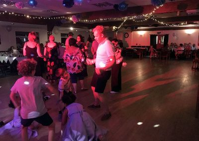 Debbie & Clive's wedding reception with Imagine Wedding & Party Entertainment