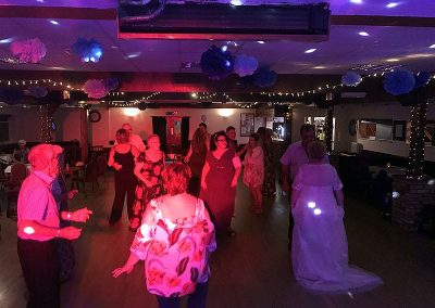 Debbie & Clive's wedding reception with Imagine Wedding & Party Entertainment