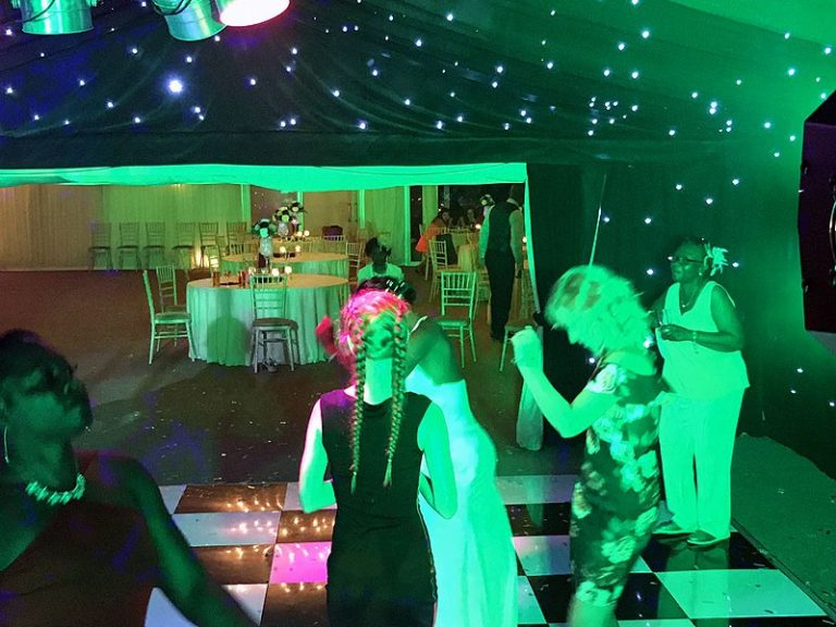 Tia & Chris's wedding reception at The Old Hall with Imagine Wedding & Party Entertainment
