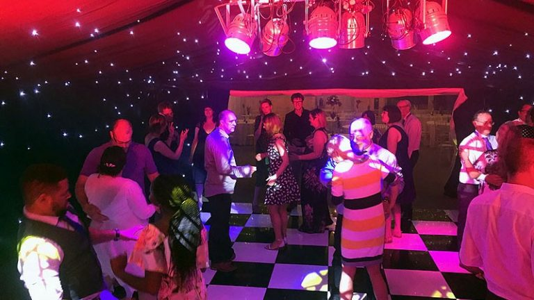 Alex & Becky's wedding reception at The Old Hall in Ely with Imagine Wedding & Party Entertainment