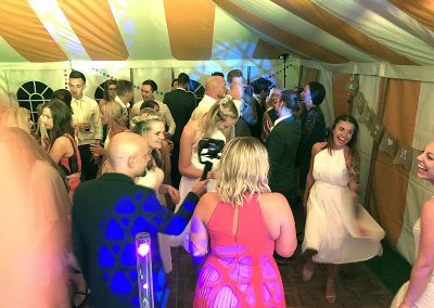 Emma & Charles' s wedding reception with Imagine Wedding & Party Entertainment