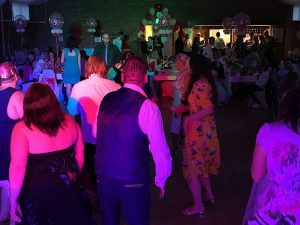 Christine & Marcus's wedding reception with Imagine Wedding & Party Entertainment