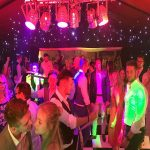 Alex & Matt's wedding reception at The Old Hall in Ely with Imagine Wedding & Party Entertainment