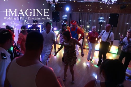 The Retro Roadshow 1980s disco from Imagine Wedding & Party Entertainment