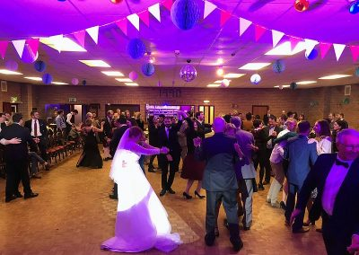 Amy & François Wedding Reception at Witchford Village Hall