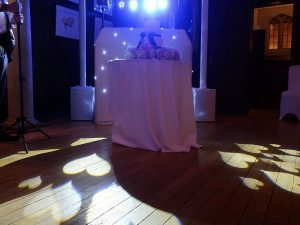 Classic White setup from Imagine Wedding & Party Entertainment