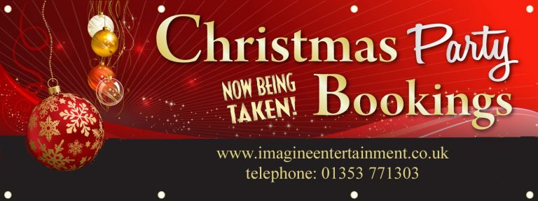 Christmas Parties in Cambridgeshire, Norfolk & Suffolk