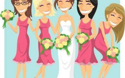Wednesday Wedding Fact: Bridesmaids