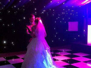 Emma & Chris's evening reception at The Old Hall with Imagine Wedding & Party Entertainment