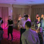 Emma & Jason's 10th anniversary with at Ely Golf Club