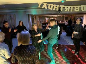 Jackie's 60th birthday with Imagine Wedding & Party Entertainment