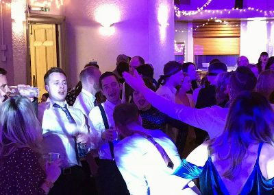 Jade & Tom's reception at Victoria Hall in Oakham 23