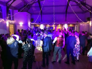 Jade & Tom's reception at Victoria Hall in Oakham