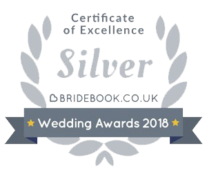 Bridebook.co.uk Silver certificate of excellence