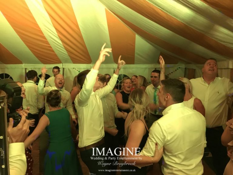Charles & Emma's evening reception with Imagine Wedding & Party Entertainment