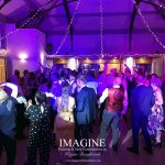 Jade and Tom's wedding reception with Imagine Wedding & Party Entertainment