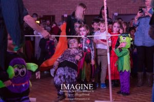 Limbo dancing is always popular at an Imagine kids party