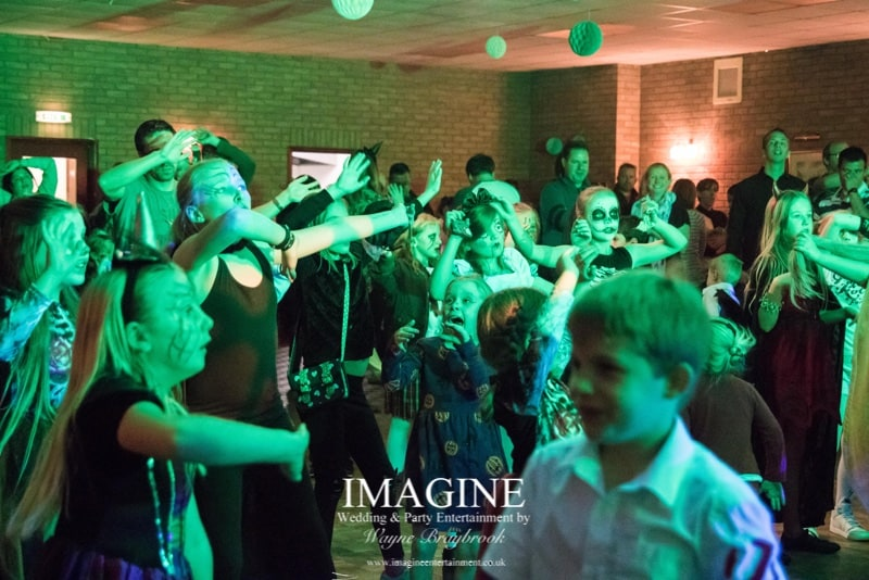 Children's disco party DJ in Cambridgeshire