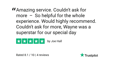TrustPilot review from Cara and Joe