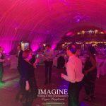 Sarah & Bryan's wedding reception at Bedinham's Farm with Imagine Wedding & Party Entertainment