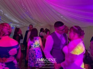 Nicola & Tom's wedding reception at The Nyton Hotel in Ely