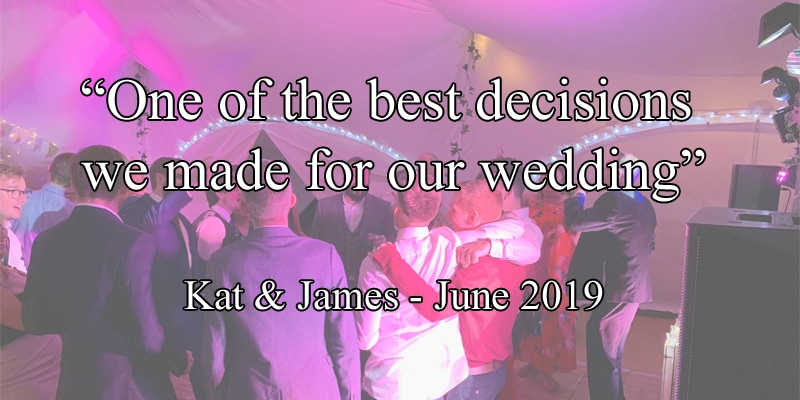 Award winning wedding DJ in Cambridgeshire, Norfolk, Suffolk, Bedfordshire & Hertfordshire