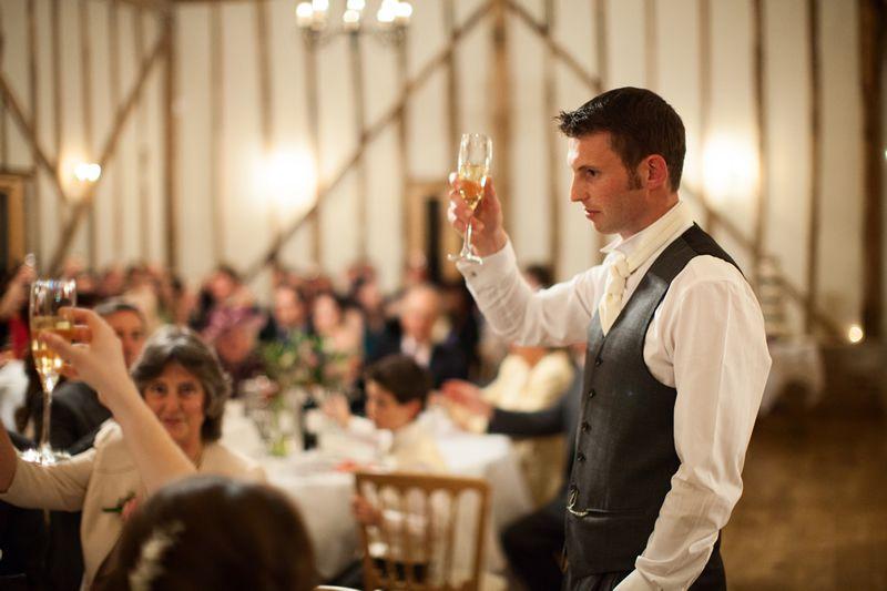 How to prepare a wedding speech