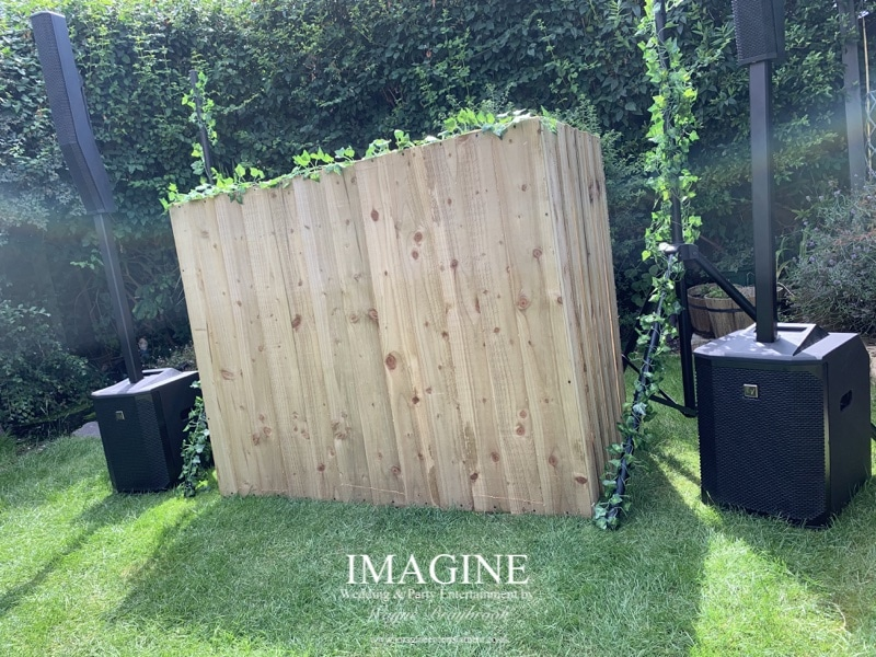Rustic style setup ideal for weddings in marquees or tipis