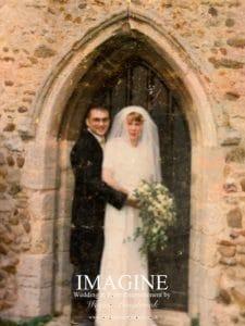 My own wedding 20 years ago